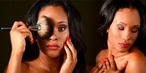 Model: Make Up By:  Keisa Stewart Rucker Photographer by: Keith Scott